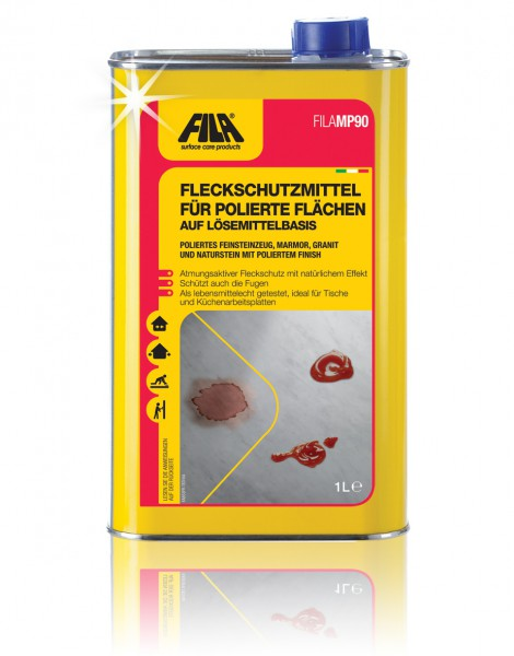 Imprägnierung für polierte Flächen Fila MP90